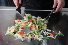 Het Japanse koken Stock Foto's