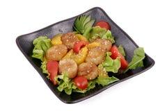 Het Japanse koken Royalty-vrije Stock Afbeeldingen