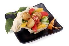 Het Japanse koken Royalty-vrije Stock Foto's