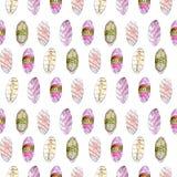Het Japanse naadloze patroon van voedselsushi vector illustratie