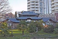 Het Japanse park van Sotchi Royalty-vrije Stock Afbeelding