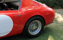 het jaren '50ras prepped Italiaanse sportwagen Stock Foto