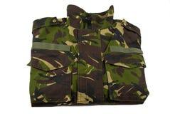 Het jasje van de camouflage Royalty-vrije Stock Foto's
