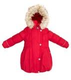 Het jasje van de vrouwenwinter Stock Afbeelding