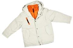 Het jasje van de winter stock foto