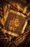 Het Javanese batik schilderen Royalty-vrije Stock Foto's