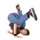 Het jonge breakdancer stellen. Royalty-vrije Stock Foto's