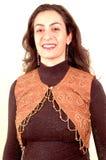 Het jonge dame glimlachen Royalty-vrije Stock Afbeeldingen