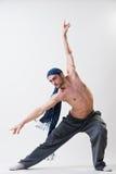 Het jonge danser uitoefenen Royalty-vrije Stock Afbeelding