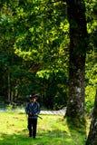 Het jonge geitje is de nieuwe sheriff Stock Fotografie