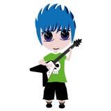 Het Jonge geitje van de gitaar Royalty-vrije Stock Fotografie