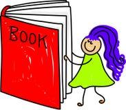 Het jonge geitje van het boek stock illustratie
