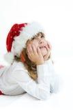 Het jonge geitje van Kerstmis Royalty-vrije Stock Foto