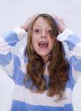 Het jonge Glimlachen van het Meisje Royalty-vrije Stock Foto's