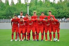Het jonge Interteam van Milaan Royalty-vrije Stock Foto's