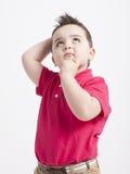 Het jonge jongen spelen Royalty-vrije Stock Foto