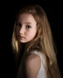 Het jonge meisje dromen Stock Fotografie