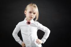Portret van jong meisje Stock Afbeeldingen