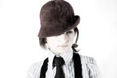 Het jonge meisje van de foto Royalty-vrije Stock Afbeeldingen