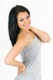 Het jonge meisje van de schoonheid Stock Fotografie