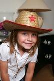 Het jonge meisje van het gezicht Stock Foto's