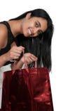 Het jonge meisje winkelen Royalty-vrije Stock Afbeelding