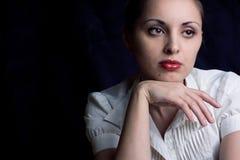 Het jonge mooie meisje Royalty-vrije Stock Foto's