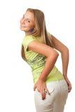 Het jonge mooie meisje Royalty-vrije Stock Afbeelding
