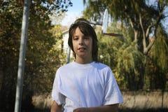 Het jonge Portret van de Jongen Royalty-vrije Stock Foto