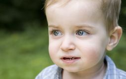 Het jonge Portret van de Jongen Royalty-vrije Stock Afbeeldingen