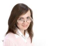 Het jonge Portret van de Vrouw Stock Foto