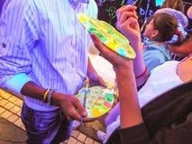 het jonge schilderen Royalty-vrije Stock Afbeelding