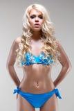 Het jonge sexy model stellen in de studio royalty-vrije stock afbeeldingen