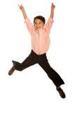 Het jonge springen van het Jonge geitje Stock Foto