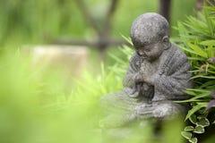 Het jonge Standbeeld van Boedha Stock Afbeelding