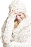 Het jonge vrouw glimlachen Stock Afbeeldingen