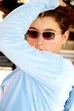 Het jonge Vrouw Stellen royalty-vrije stock foto's
