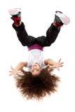 Het jonge vrouwelijke dansen Stock Afbeelding