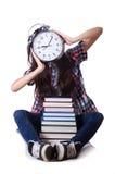 Het jonge vrouwelijke student missen Stock Foto's