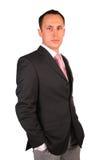 Het jonge zakenman stellen Royalty-vrije Stock Foto's