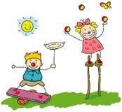 Het jongleren met Stock Foto's