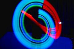 Het jongleren met in motie Stock Afbeelding