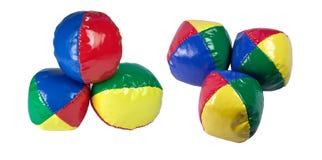 Het jongleren met van ballen. Stock Afbeelding
