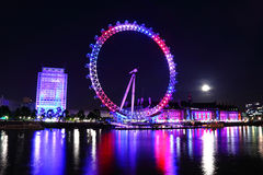 Het jubileum van de het oog 2012 Koningin van Londen Royalty-vrije Stock Foto's