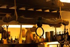 Het juk houten werk Stock Fotografie