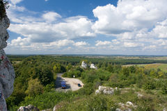 Het Juragebergte Polen stock fotografie
