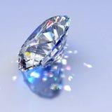 Het juweel van de diamant met bezinningen vector illustratie