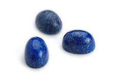 Het Juweel van lapis lazuli Stock Foto