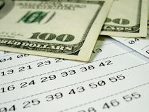 Het kaartje van de loterij - 2 Royalty-vrije Stock Fotografie