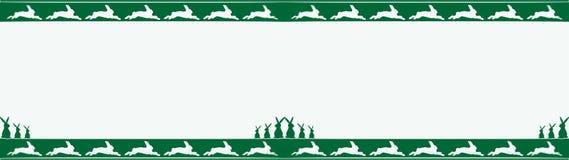 Het kader, de grens of de banner van Pasen Stock Foto's
